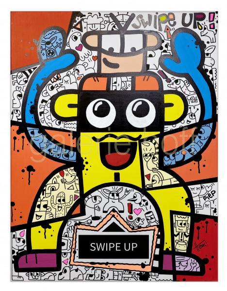 HONK!ART - Swipe up