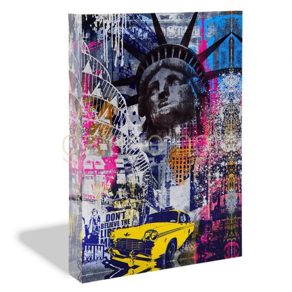 Miles, Devin - New York - Acrylblock
