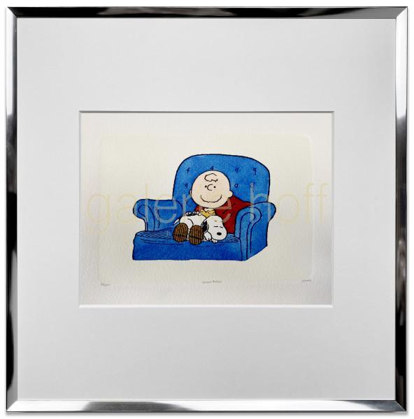 Schulz, Charles M. / Peanuts - A Warm Puppy - gerahmt