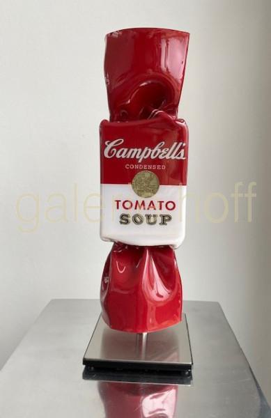 van Hassel, Ad - Candy Campbells rot - Skulptur 46 cm