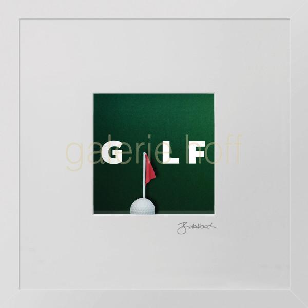 Wortkunst R. Birkelbach - Golf