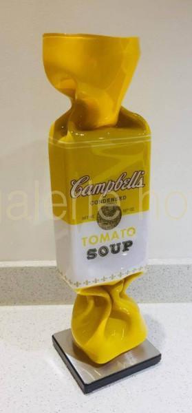 van Hassel, Ad - Candy Campbells gelb - Skulptur