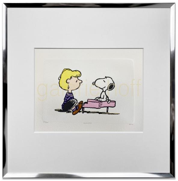 Schulz, Charles M. / Peanuts - Schroeders Piano gerahmt