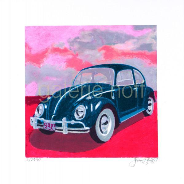 Gill, James Francis - Mini Bug - Pink Sky