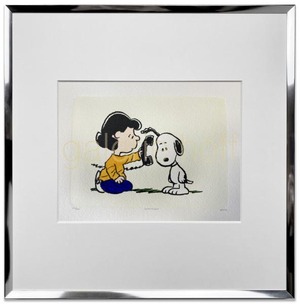 Schulz, Charles M. / Peanuts - Whos This - gerahmt