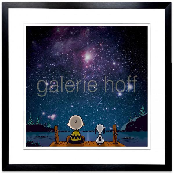Schulz, Charles M. / Peanuts - Stars - gerahmt