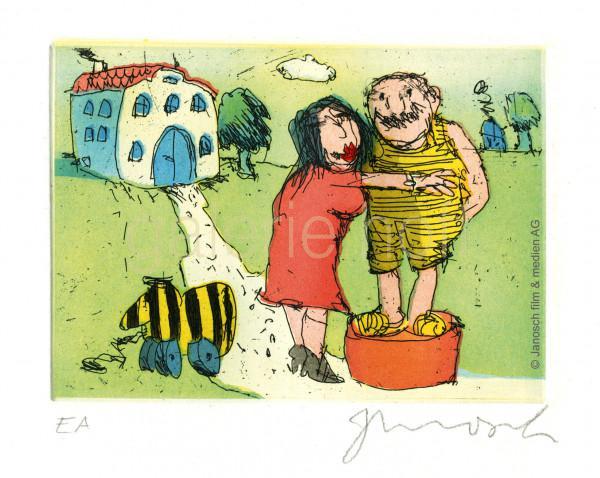 Janosch - Ich liebe Sie sprach Frau Luise zu mir auf einer grünen Wiese