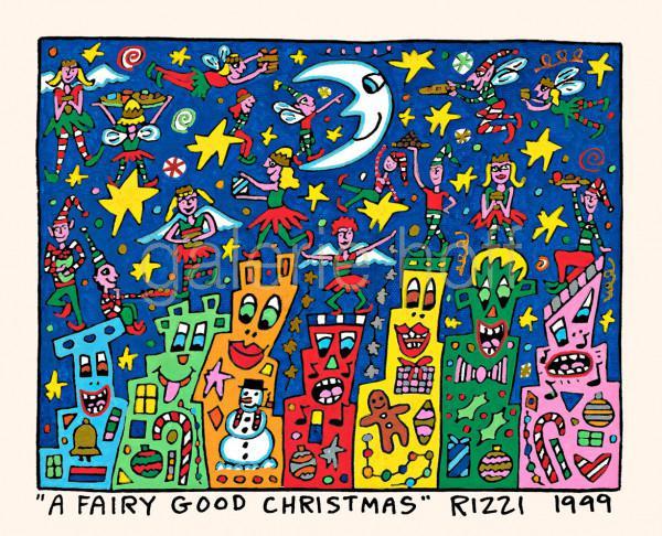 Rizzi, James - A Fairy Good Christmas - gerahmt