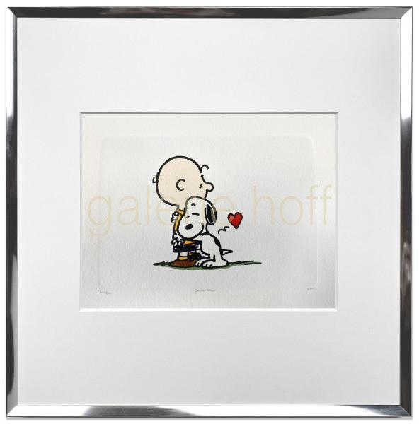 Schulz, Charles M. / Peanuts - Hugs - gerahmt