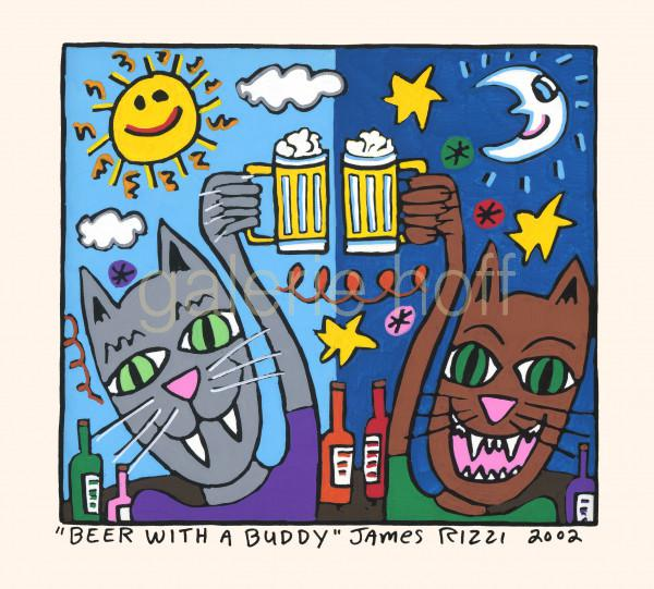 Rizzi, James - Beer with a Buddy - gerahmt