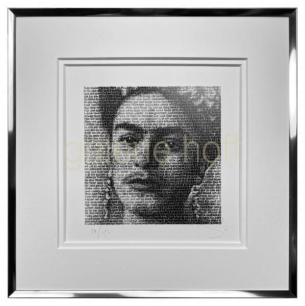 SAXA - Frida Kahl - gerahmt