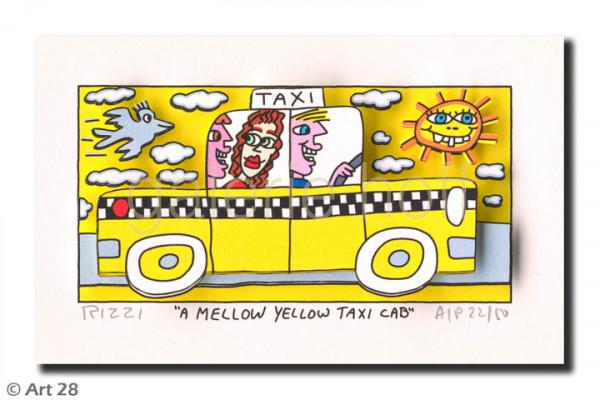 Rizzi, James - A Mellow Yellow Taxi Cab
