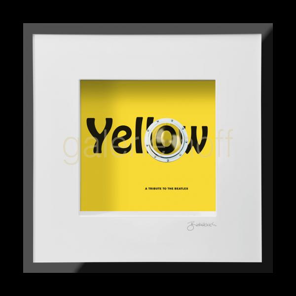 Wortkunst R. Birkelbach - Yellow Submarine