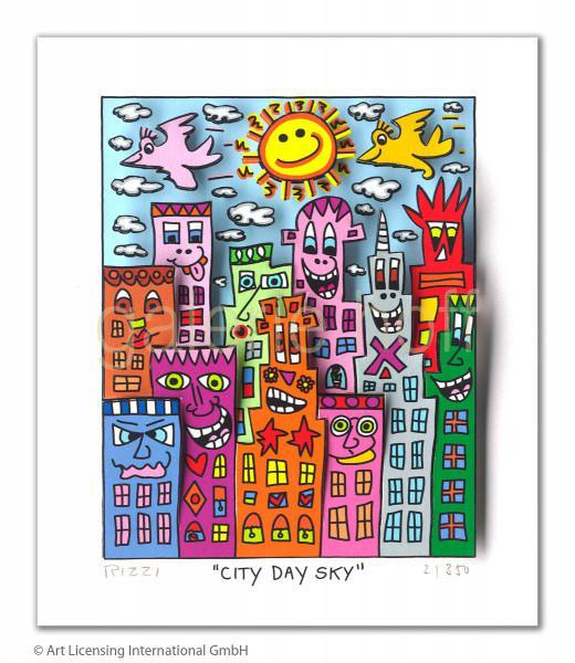 Rizzi, James - City Day Sky