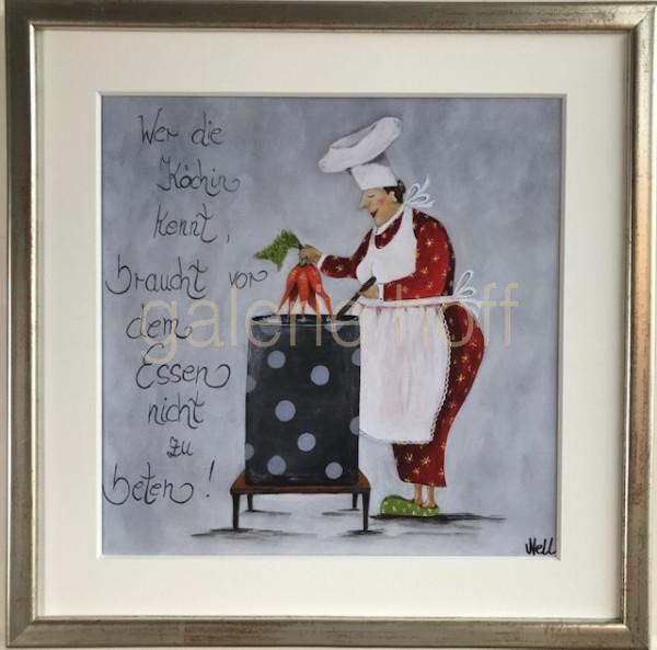 Nell - Wer die Köchin kennt , braucht vor dem Essen nicht zu beten!