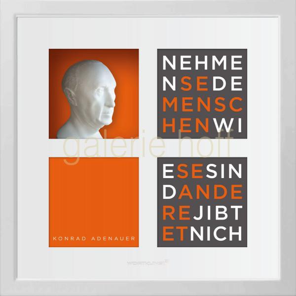 Wortkunst R. Birkelbach - Konrad Adenauer
