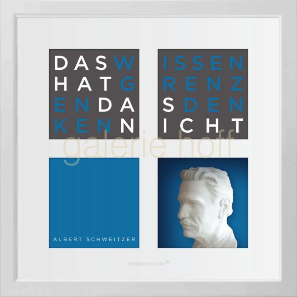 Wortkunst R. Birkelbach - Albert Schweitzer