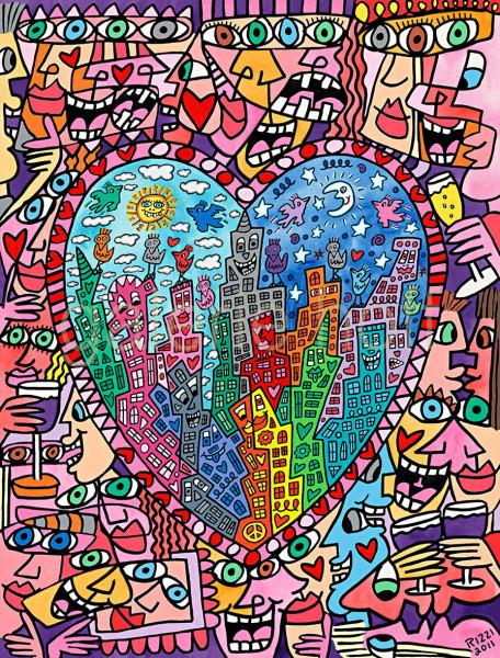 Rizzi, James - It´s Heart Not To Love My City - gerahmt