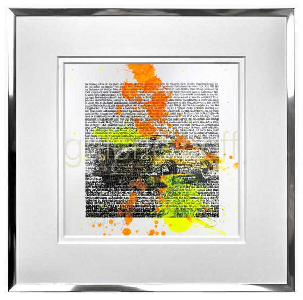 SAXA - Colorful Flies III - gerahmt