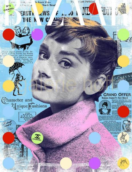 Miles, Devin - Bazaar - Audrey Hepburn
