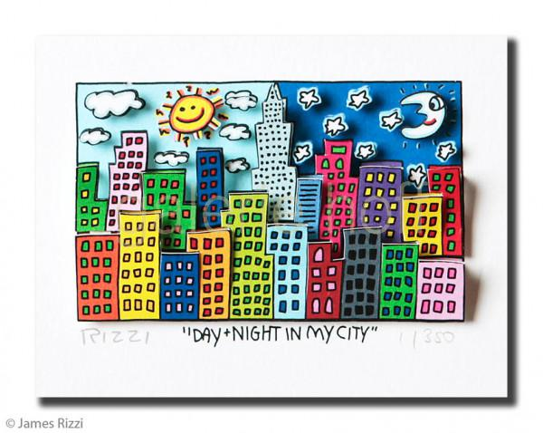 Rizzi, James - Day + night in my city **letztes Exemplar**