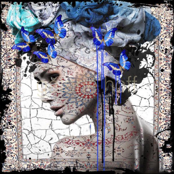 Bakker, Hans Jochem - Butterfly Woman I