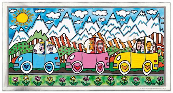 Rizzi, James - Driving Through The Alps - gerahmt