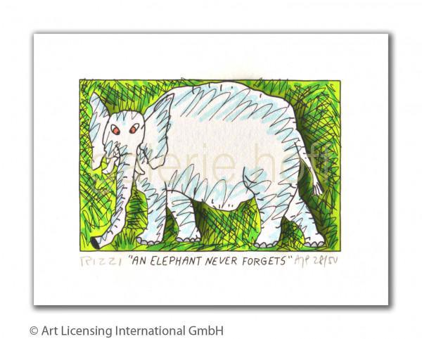 Rizzi, James - An Elephant never forgets