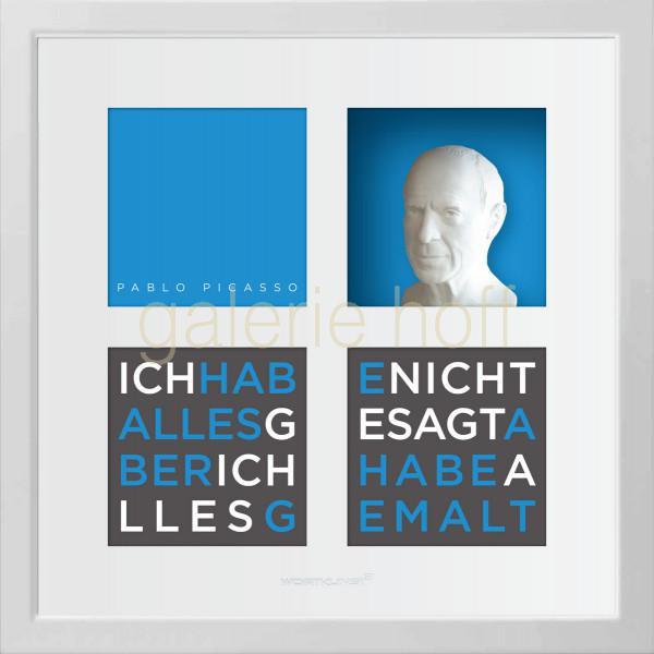 Wortkunst R. Birkelbach - Pablo Picasso