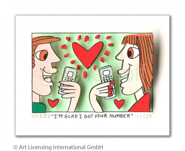 Rizzi, James - I'm Glad I Got Your Number