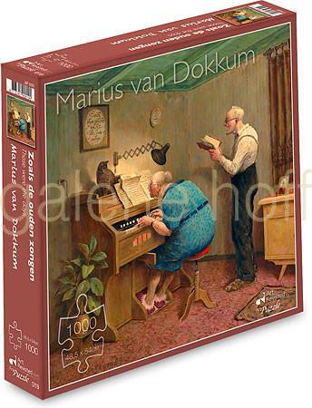 van Dokkum, Marius - Those were the days - Puzzle