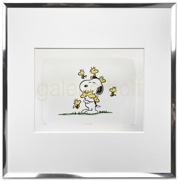 Schulz, Charles M. / Peanuts - Friends - gerahmt