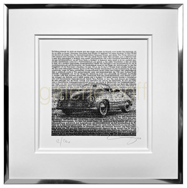 SAXA - Porsche 356 - gerahmt