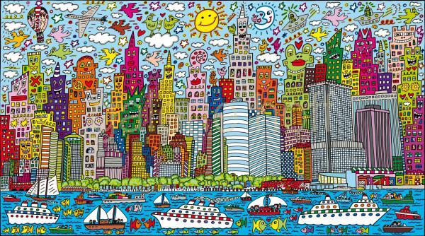 Rizzi, James - My New York City - gerahmt