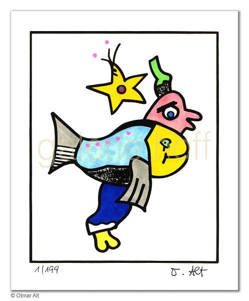 Alt, Otmar - Sternzeichen Fische