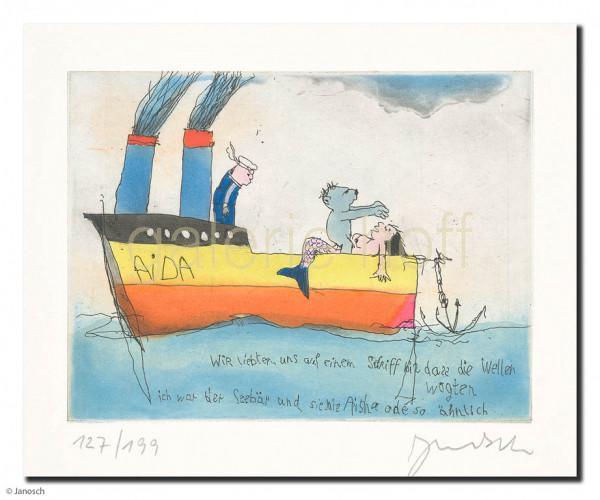 Janosch - Wir liebten uns auf einem Schiff bis dass die
