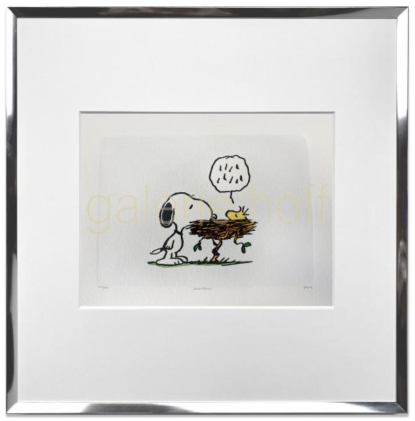 Schulz, Charles M. / Peanuts - Say What - gerahmt