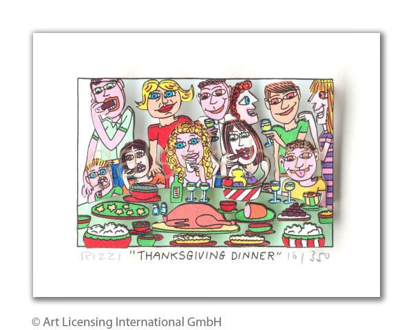 Rizzi, James - Thanksgiving Dinner
