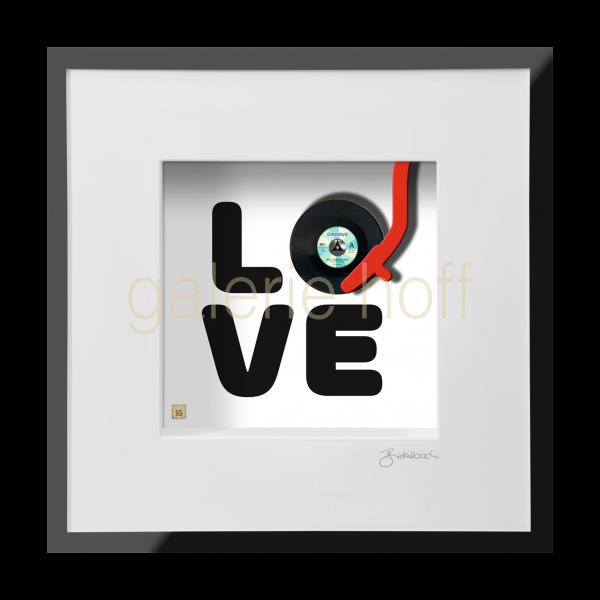 Wortkunst R. Birkelbach - I love Vinyl