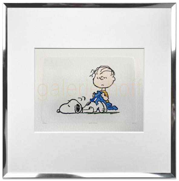 Schulz, Charles M. / Peanuts - Rest Time - gerahmt