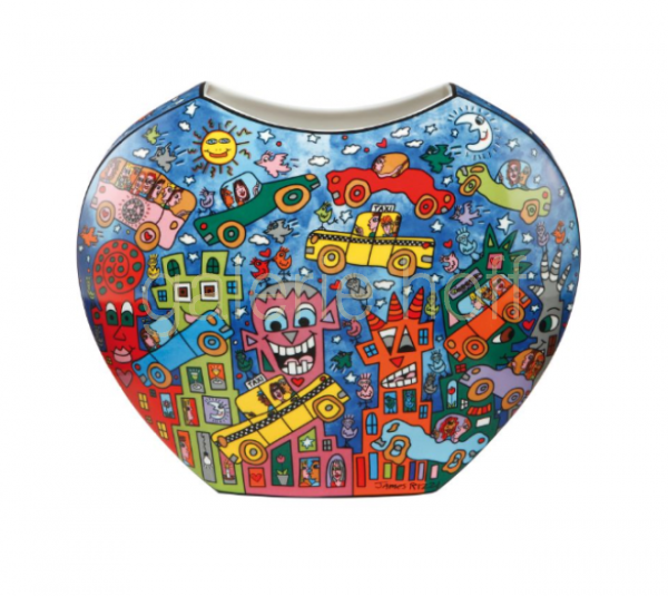 Rizzi, James - Not getting around the traffic - Vase