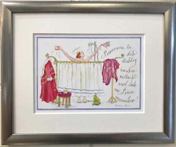 Thrän, Christina - Prinzessin tu dich tüchtig waschen - vielleicht wird dich ein Prinz vernaschen!