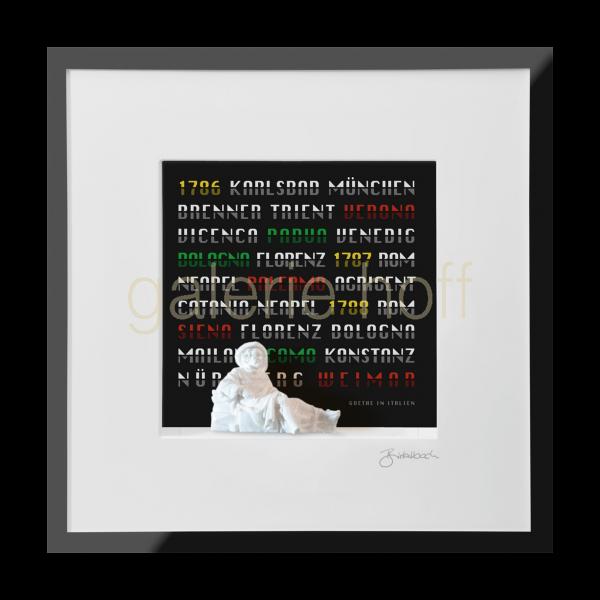 Wortkunst R. Birkelbach - Goethe in Italien