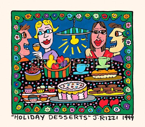Rizzi, James - Holiday Desserts - gerahmt