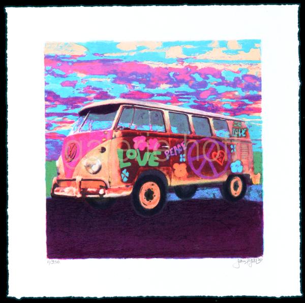 Gill, James Francis - Mini Hippie Bus