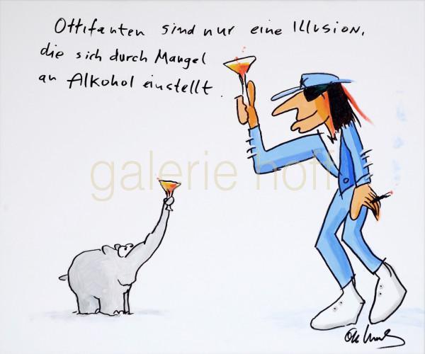 Waalkes, Otto - Illusion I