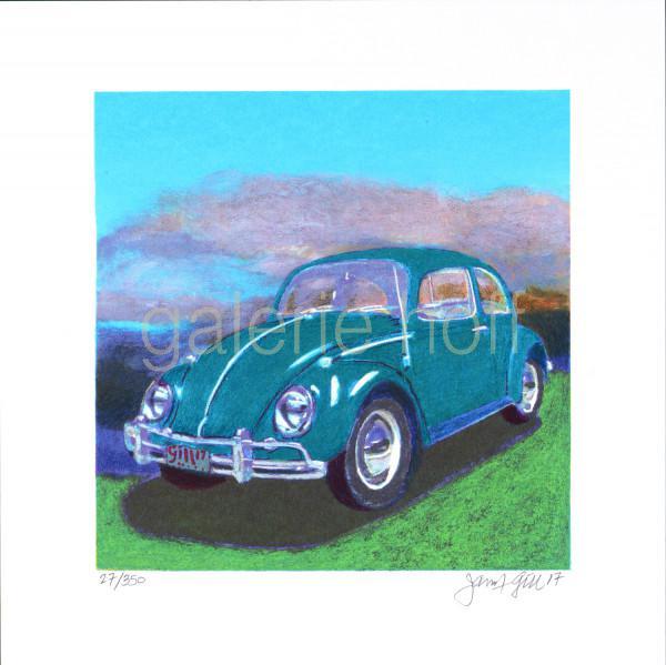 Gill, James Francis - Mini Bug - Turquoise