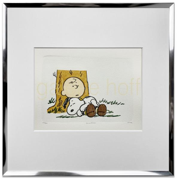 Schulz, Charles M. / Peanuts - Afternoon Nap - gerahmt