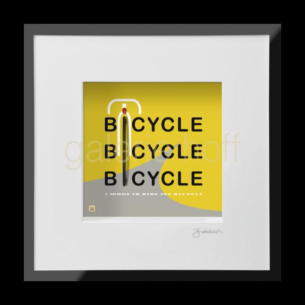 Wortkunst R. Birkelbach - Bicycle, Bicycle