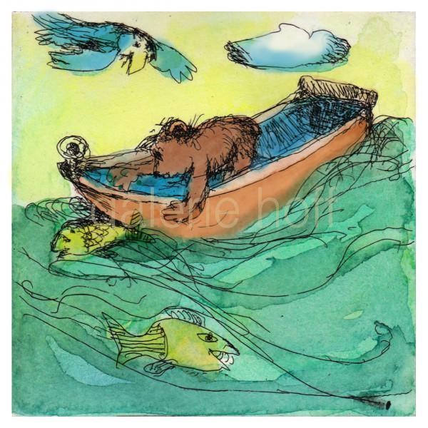 Janosch - Mit großen Tatzen fängt man Fische